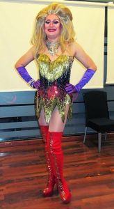 Drag queen Brushmadrid para fiestas y eventos en madrid.