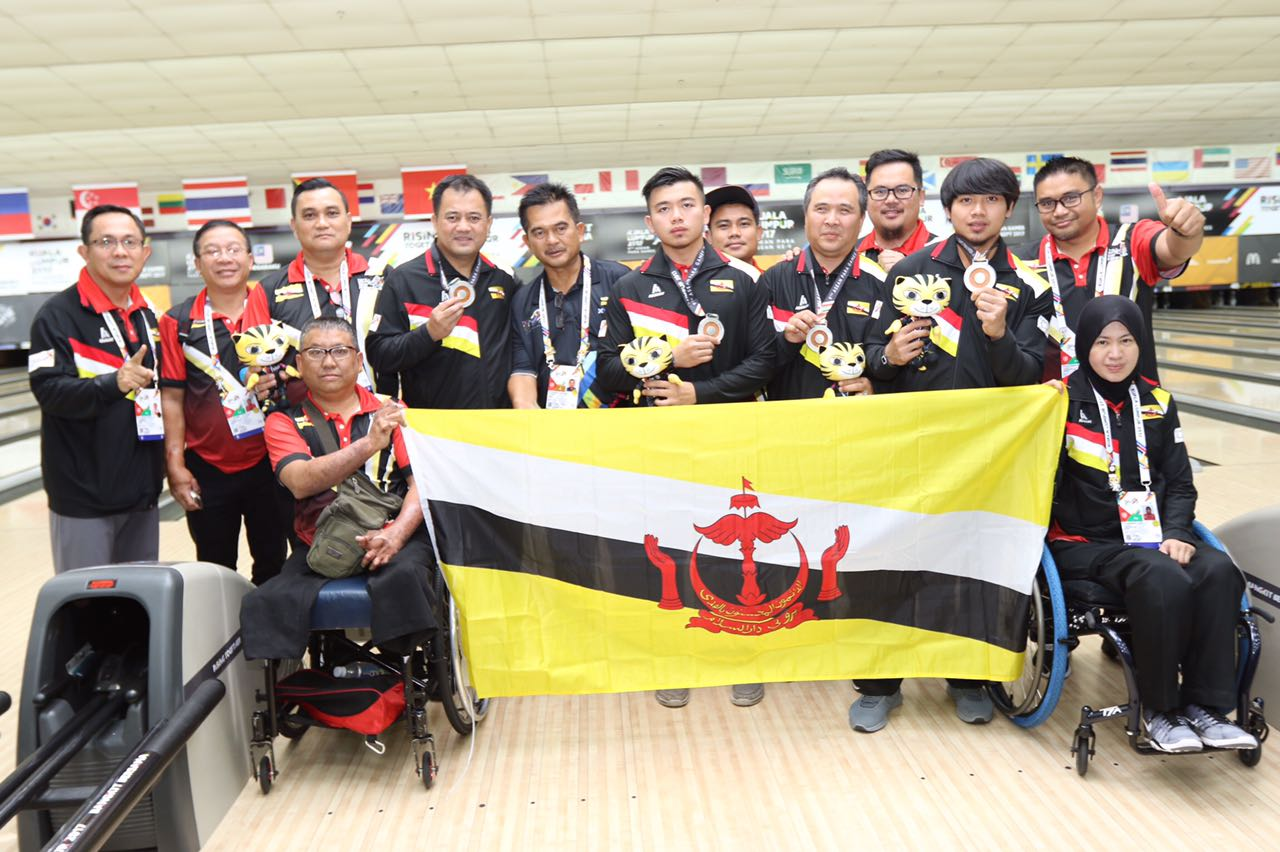 Good outing for Brunei at 9th ASEAN Para Games