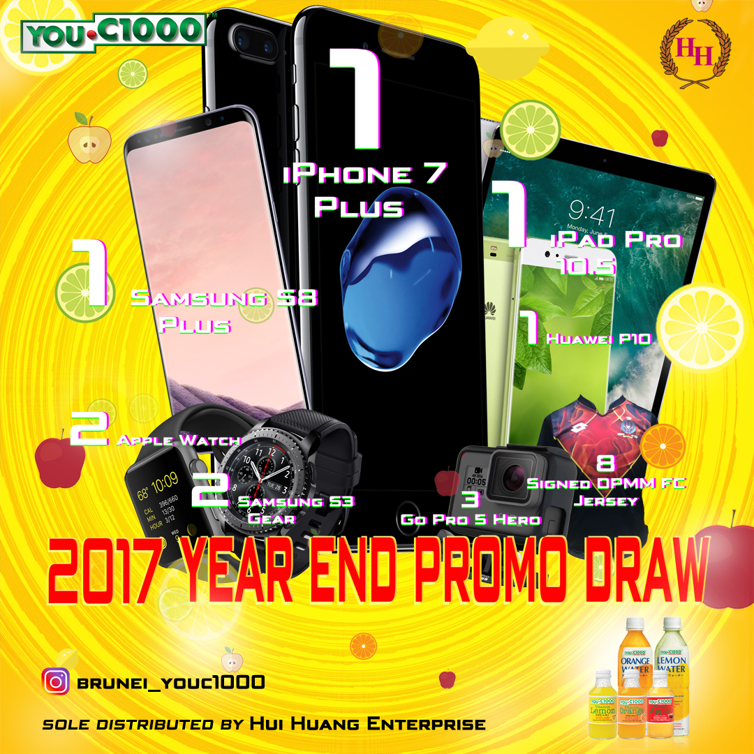 Stand a chance to win fantastic prizes with YOU.C1000