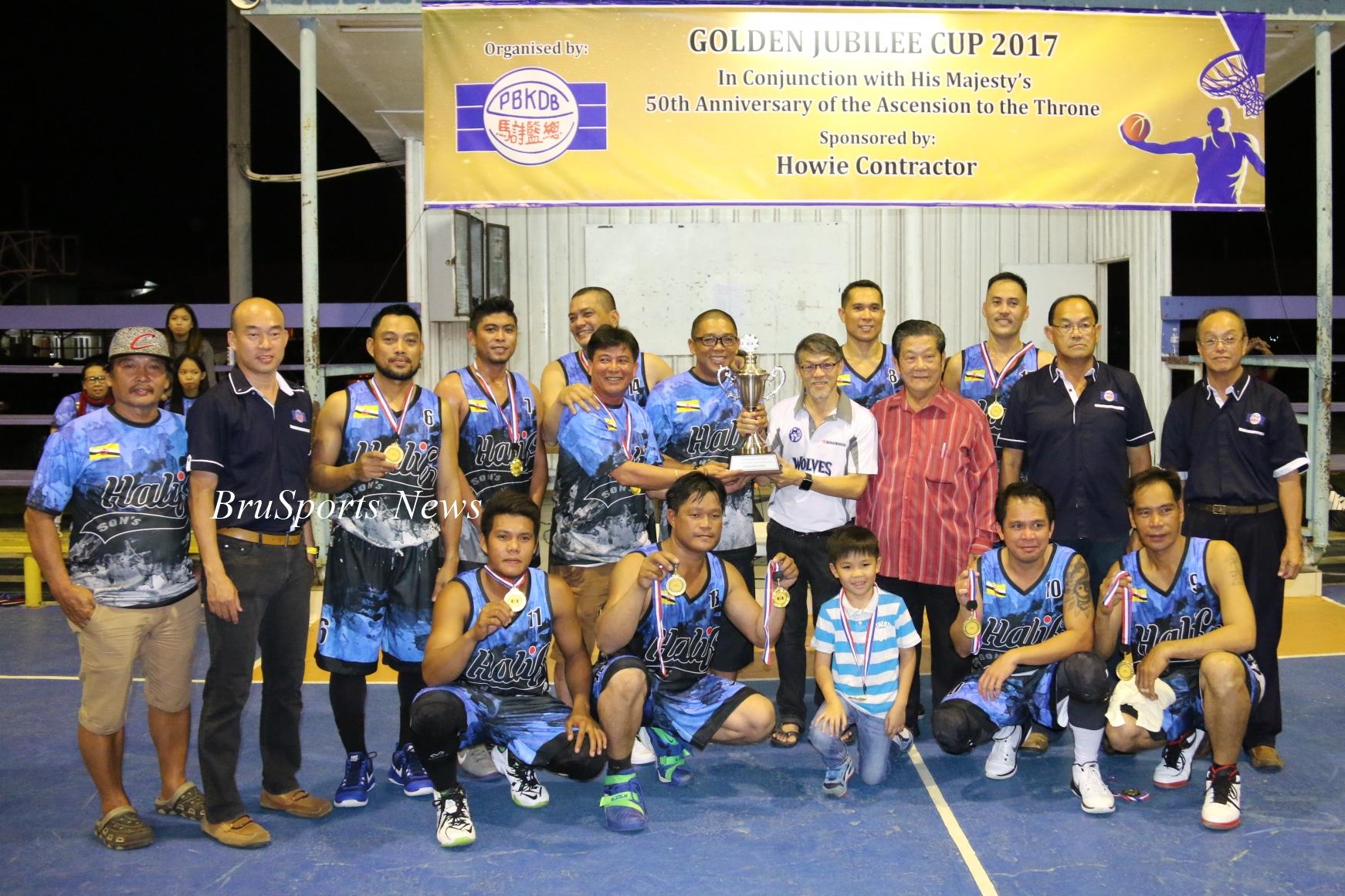 Halif & Sons win Golden Jubilee Cup 2017 title