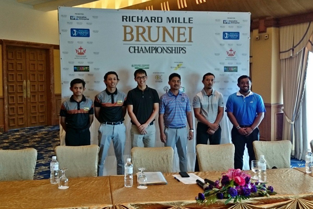 Six local golfers for Richard Milles Brunei Championships