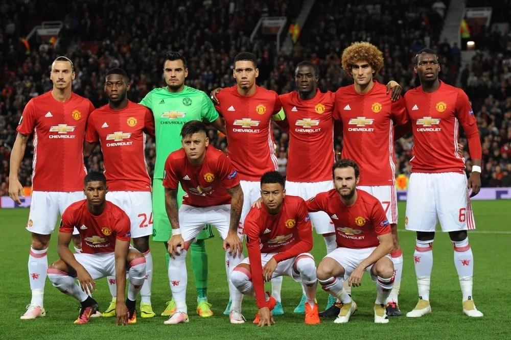 Anderlecht mot Manchester United