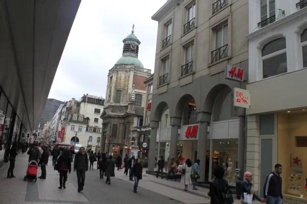 Vásárlás Brüsszelban