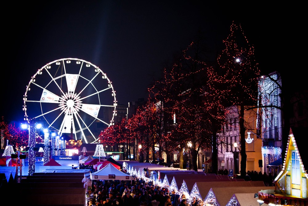 Christmas markets in Brussels