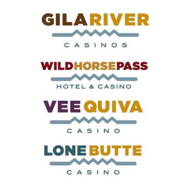 Arizona casino family of logos