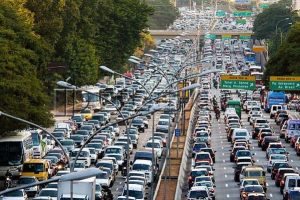trafic jam sao paulo