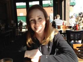 Elizabeth at Lou's Downtown San Fran.