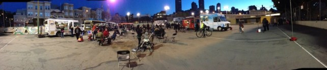 Food trucks in San Fran.