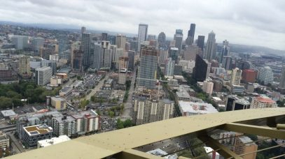 View from the top of the Space Needle