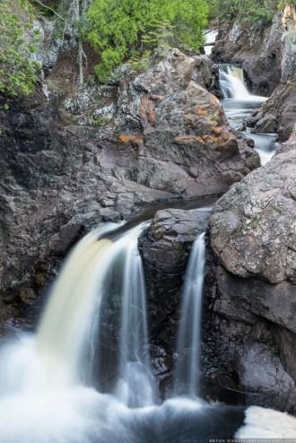 polarizer used on waterfall