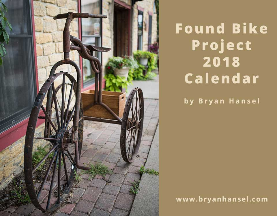 Found Bike Project Calendar 2018