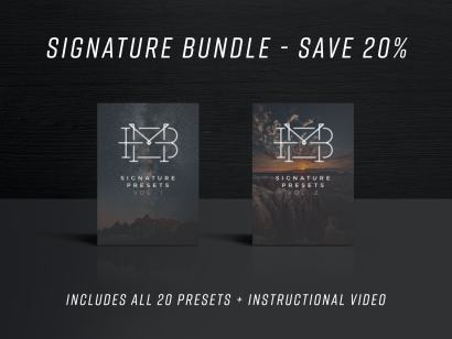 Signature Preset Bundle - Vol. 1 & 2
