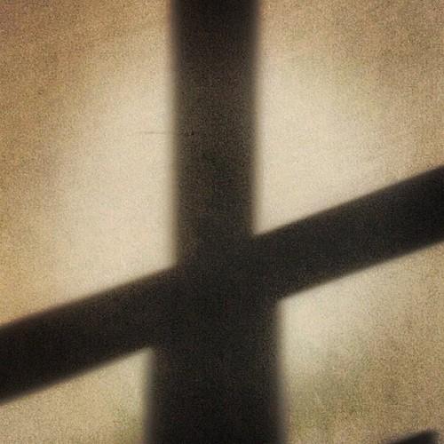 blurry cross photo