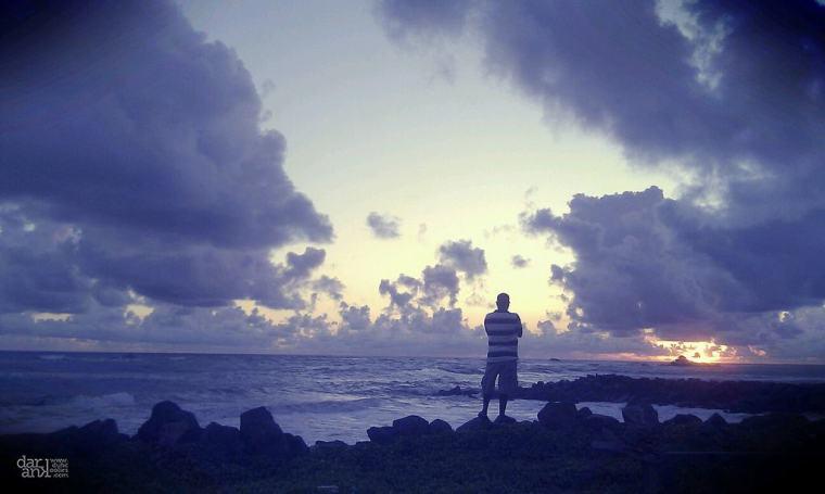 guy standing alone