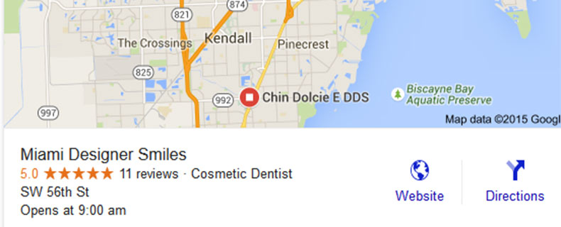 Local Search Results Now 3 Listing