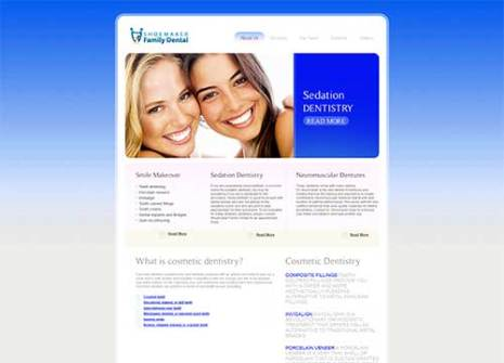 Dentist Web Development Gallery