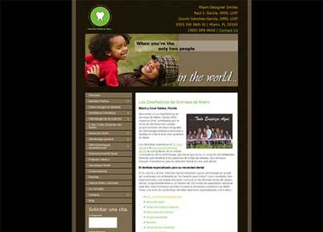 Web Design for Dentist Example