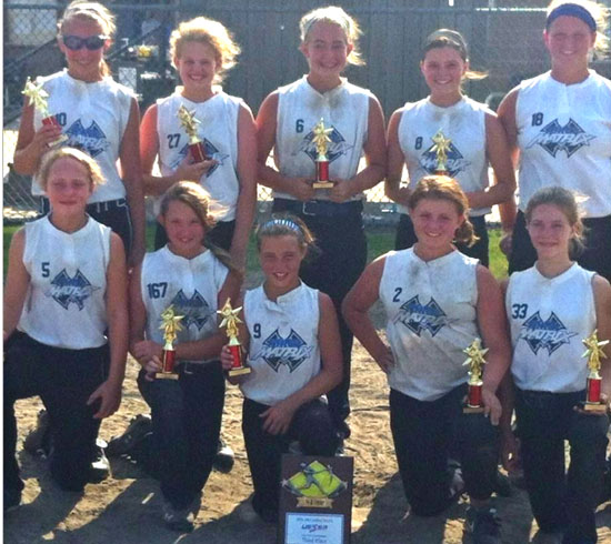 Local team of 12-year-olds finish third at 14U USSSA State ...