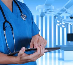 Medicare Attorney in San Antonio - nurse with ipad