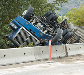 truck accident attorney in San Antonio - truck accident rollover