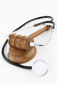 stethoscope and gavel Personal Injury Attorney in San Antonio