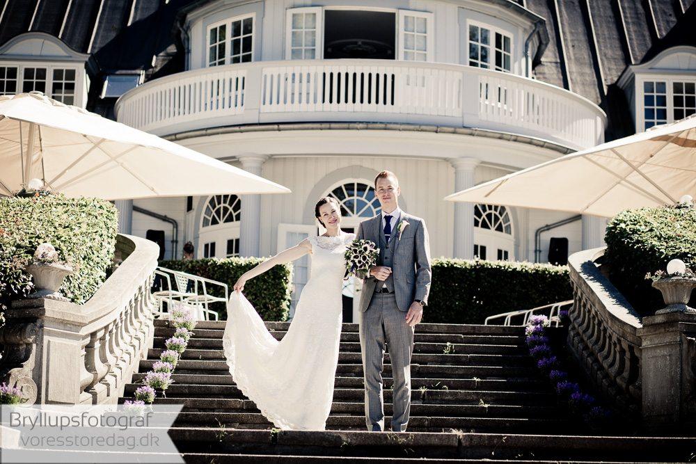 brude i kjolen ved aldershvile