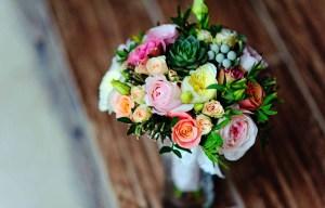 blomster buket bryllup