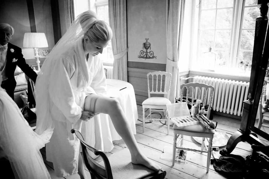 brudens forberedelse på holckenhavn slot