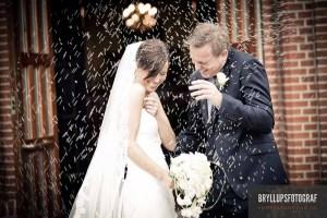 Bryllup i Frederiksborg Slotkirke fest på Skodsborg