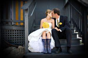 bryllupsbilleder i regnvejr