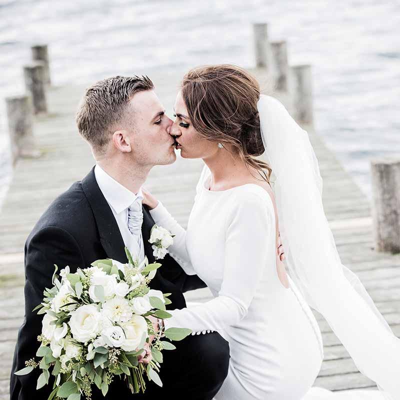 Hvad skal der blive af brudebuketten?