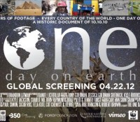"Bryon Evans Films featured in Documentary ""One Day on Earth"""