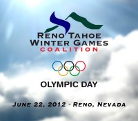"Reno Tahoe Winter Games Coalition ""Olympic Day 2012"""