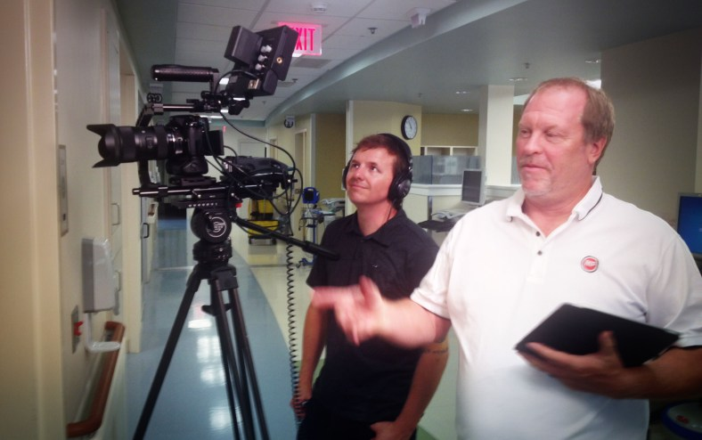 On location in North Carolina with Miner Productions for VMware.