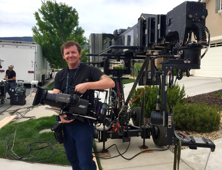 Bryon Evans with Technocare, Alexa Mini and Cooke Anamorphic, a perfect pair!