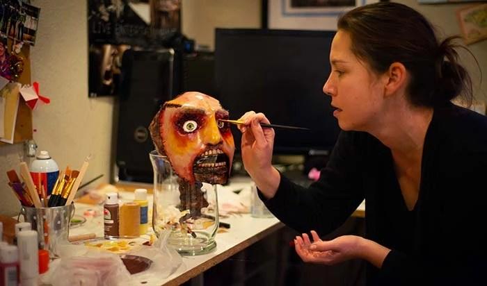 Mask design for horror short film.
