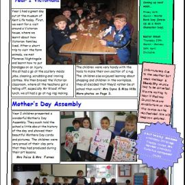 Weekly Newsletter w/e 9th March 2018