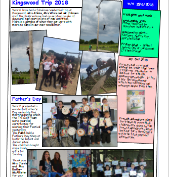 Weekly Newsletter w/e 15th June 2018