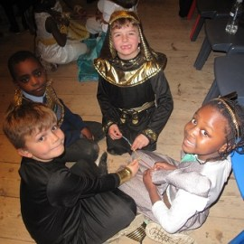 Year 2 Egyptian Day at Kent Life