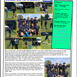 Weekly Newsletter w/e 24th May 2019