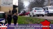 Atak terrorystyczny na patrol wojskowy