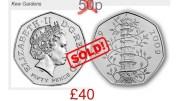 50 p Monety, numizmatyka