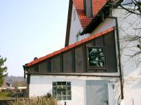 Fassadenverkleidung Ausfuehrung in Stehfalztechnik Kupfer3