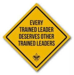 Every Trained Leader Deserves Other Trained Leaders