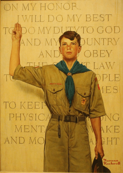ScoutOath_NormanRockwell