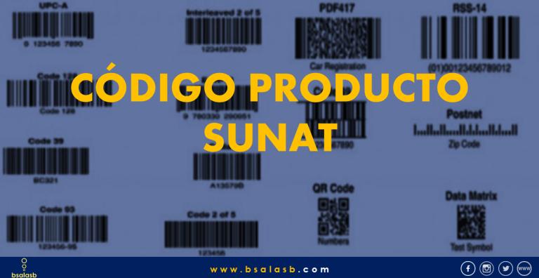 Lee más sobre el artículo SUNAT: Qué es Código Producto y Como usar.