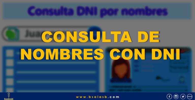 Lee más sobre el artículo Como buscar o validar el DNI si es verdadero o buscar su nombre completo