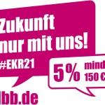 Einkommensrunde 2021: 5 Prozent mehr Gehalt, mindestens jedoch 150 Euro
