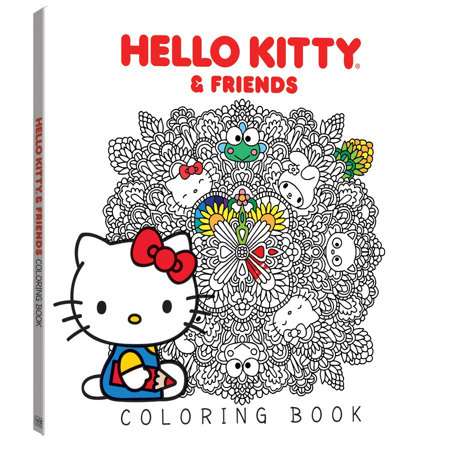 hello kitty u0026 friends coloring book