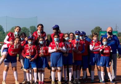 Under 12 Softball: terze in Italia!